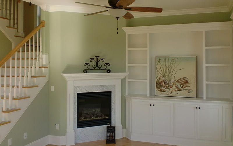 Real Developments Custom Home Interior Living Room in East Beach Norfolk Virginia800x500
